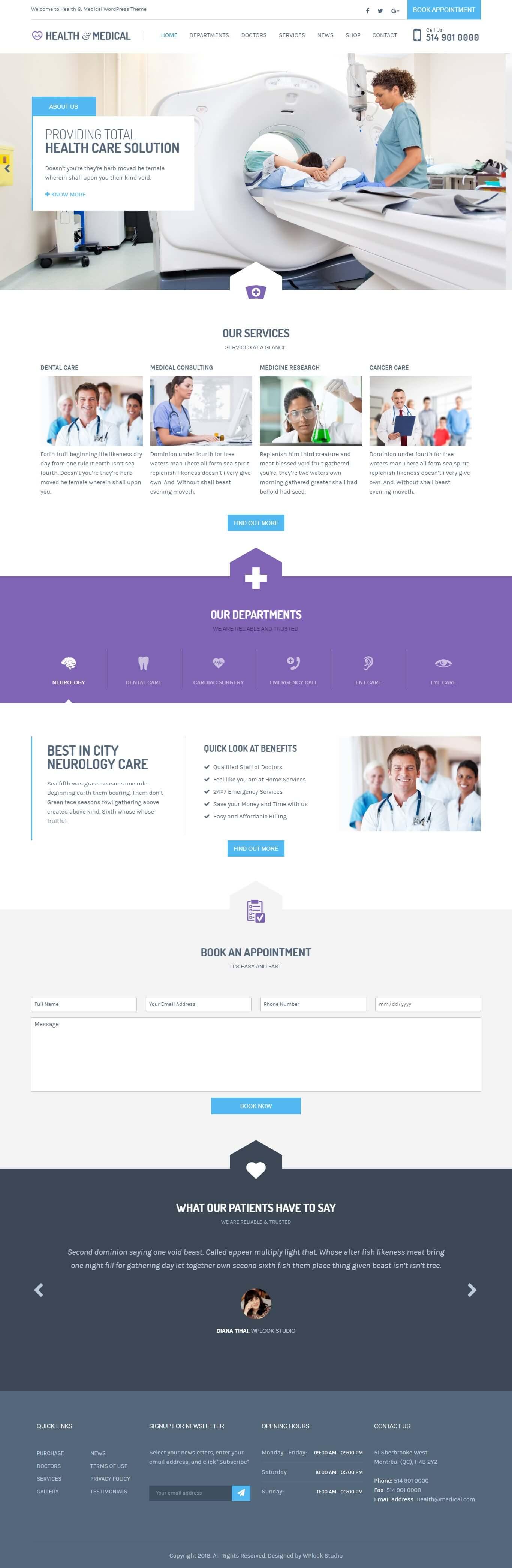 1 از 3  قالب سلامت و پزشکی | Health & Medical