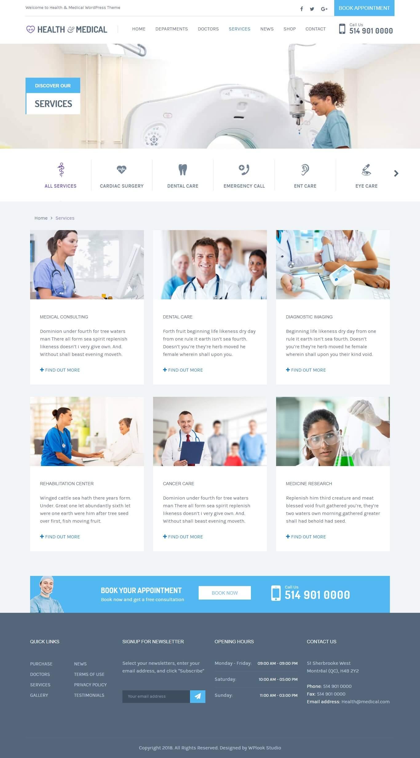 2 از 3  قالب سلامت و پزشکی | Health & Medical