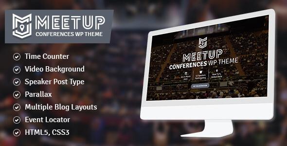 قالب The Meetup - قالب وردپرس کنفرانس و رویداد
