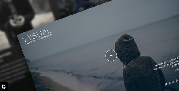 قالب VYSUAL - قالب وردپرس کمپین فیلم