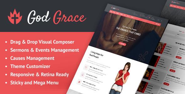 قالب God Grace - قالب وردپرس کلیسا