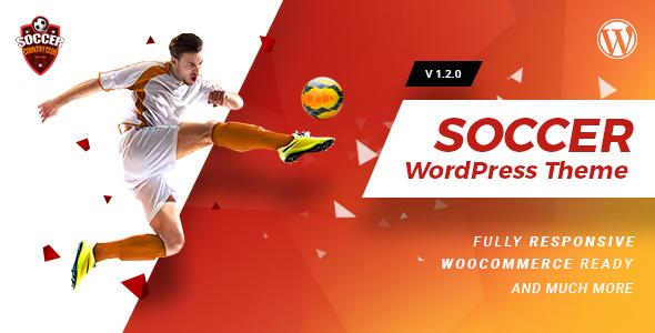 قالب Soccerclub - قالب وردپرس باشگاه ورزشی