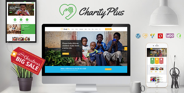 قالب Charity Plus - قالب وردپرس چندمنظوره