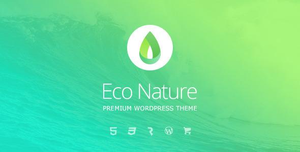 قالب Eco Nature - قالب وردپرس محیط زیست