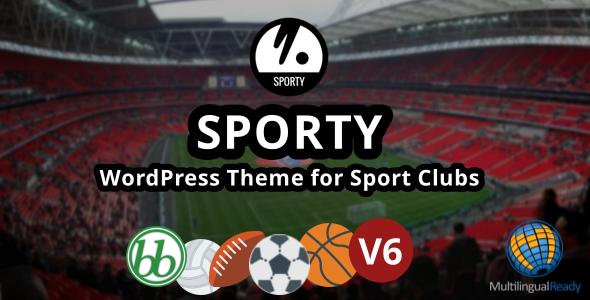 قالب SPORTY - قالب وردپرس برای باشگاه های ورزشی