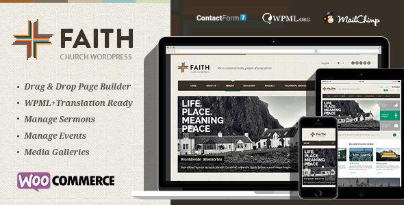 قالب Faith - قالب وردپرس چند منظوره
