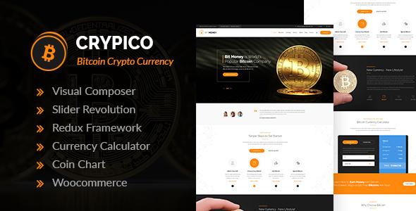 Crypico - قالب وردپرس ارز دیجیتال