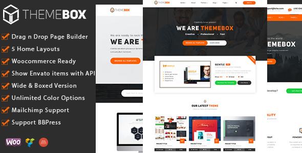 قالب Themebox - قالب وردپرس سایت فروش فایل