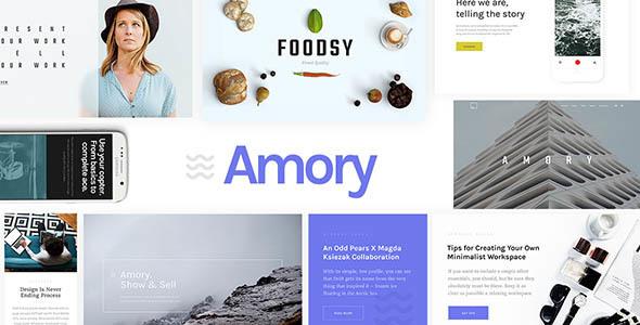 قالب Amory - قالب وردپرس چند منظوره ریسپانسیو