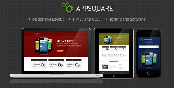 قالب AppSquare - قالب وردپرس نرم افزار و هاستینگ