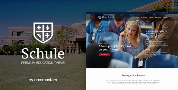 قالب Schule - قالب وردپرس آموزشی و آموزشگاه