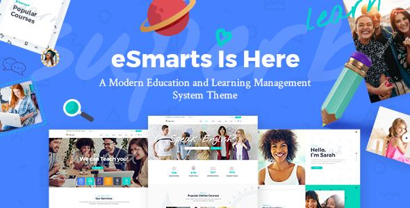 قالب ای اسمارت | eSmarts - پوسته وردپرس حرفه ای سیستم آموزشی آنلاین
