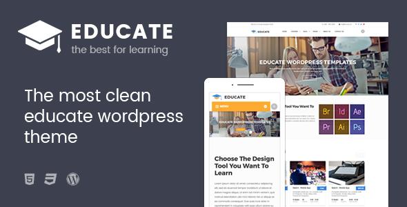 قالب Educate - قالب وردپرس آموزشی