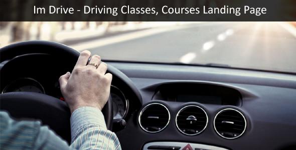 قالب ImDrive - قالب وردپرس آموزشگاه رانندگی
