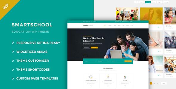 قالب Smartschool - قالب وردپرس آموزشی