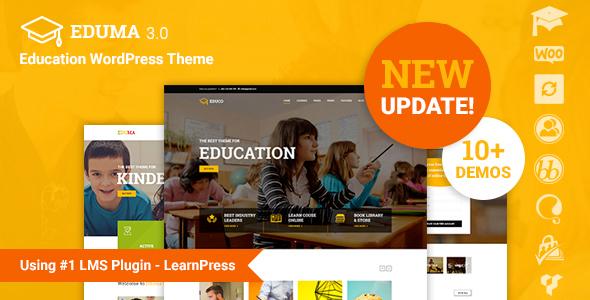 قالب Education WP - قالب وردپرس آموزشی