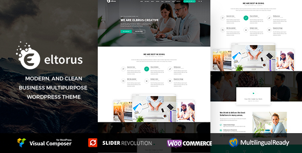 Eltorus - قالب کسب و کار وردپرس