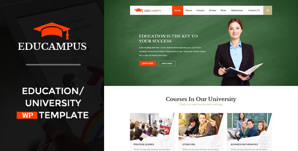 Educampus - قالب وردپرس آموزشی و دانشگاهی