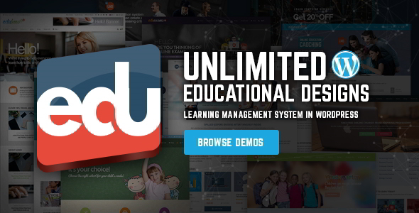 قالب EduLMS - قالب وردپرس سیستم مدیریت آموزشی