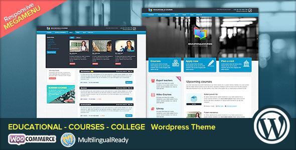قالب EDU - قالب وردپرس دوره های آموزشی