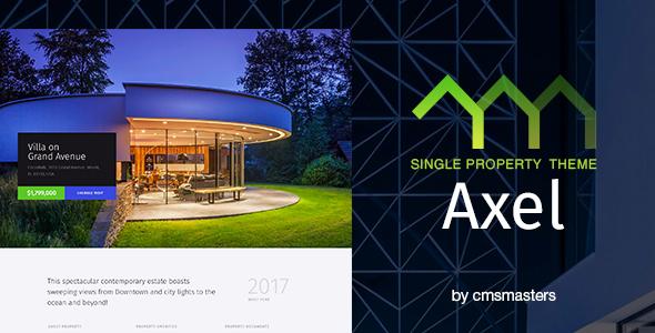 Axel - قالب وردپرس تک ملک