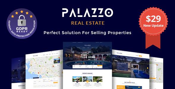 قالب Palazzo - قالب وردپرس املاک