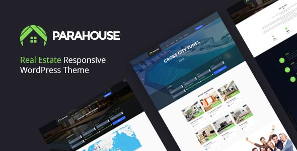 قالب Parahouse - قالب مدرن وردپرس املاک