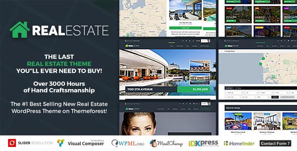 قالب Real Estate 7 - قالب وردپرس املاک