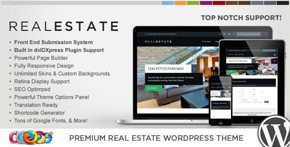 قالب WP Pro Real Estate 6 - قالب وردپرس ریسپانسیو