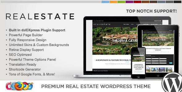 قالب WP Pro Real Estate 5 - قالب وردپرس ریسپانسیو