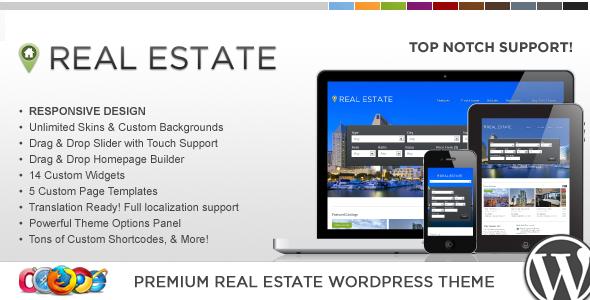 قالب WP Pro Real Estate 4 - قالب وردپرس ریسپانسیو