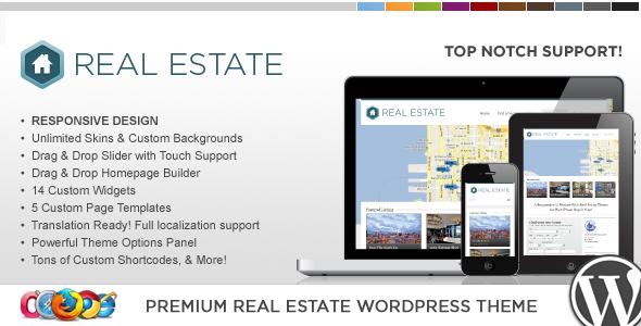 WP Pro Real Estate 3 - قالب وردپرس ریسپانسیو