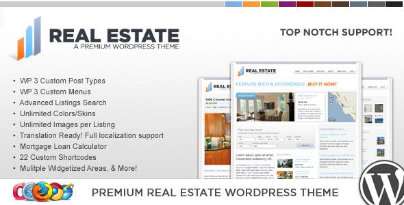 WP Pro Real Estate 2 - قالب وردپرس