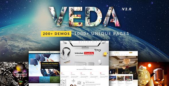 VEDA - قالب چند منظوره