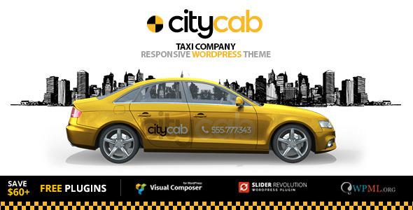 قالب CityCab - قالب وردپرس شرکت تاکسی