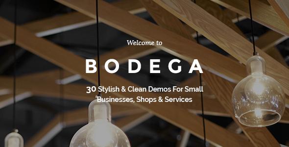 قالب Bodega - قالب وردپرس برای کسب و کارهای کوچک