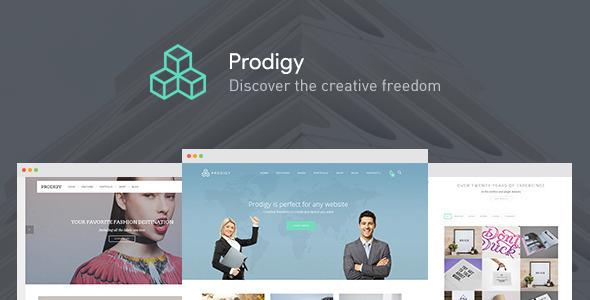 قالب Prodigy - قالب وردپرس چند منظوره