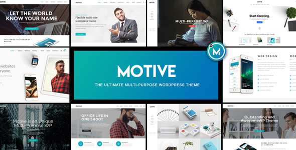 قالب Motive - قالب وردپرس کسب و کار چند منظوره