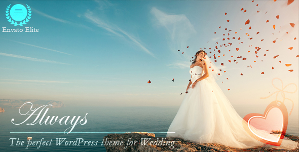 قالب Always - قالب وردپرس عروسی ریسپانسیو