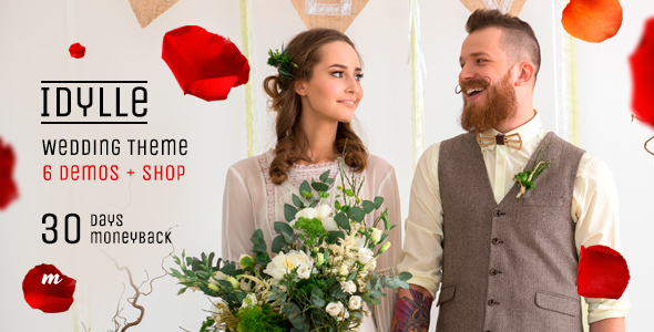 Idylle Wedding - قالب عروسی