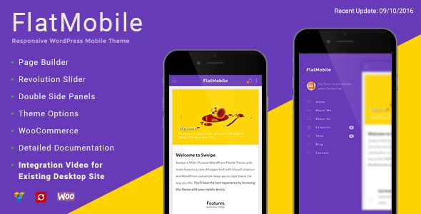 FlatMobile - قالب موبایل وردپرس