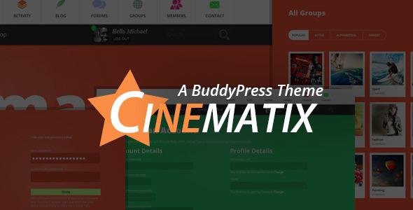 قالب Cinematix - قالب انجمن بادی پرس