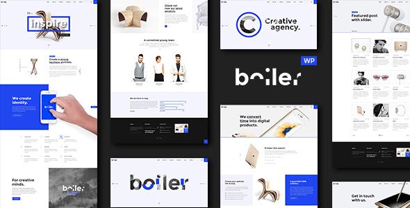 قالب Boiler - قالب وردپرس آژانس خلاق و کسب و کار