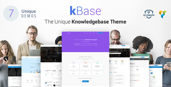 قالب Knowledge Base - قالب وردپرس راهنما