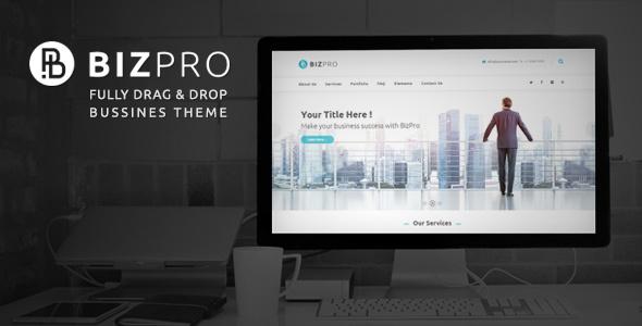 قالب BizPro Business - پوسته وردپرس کسب و کار
