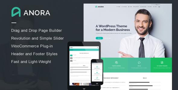 Anora - قالب شرکتی وردپرس