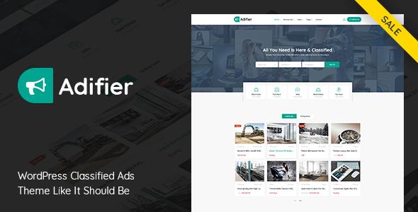 قالب ادیفیر | Adifier - قالب ثبت آگهی و کاریابی