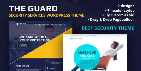 قالب The Guard - قالب وردپرس شرکت امنیتی
