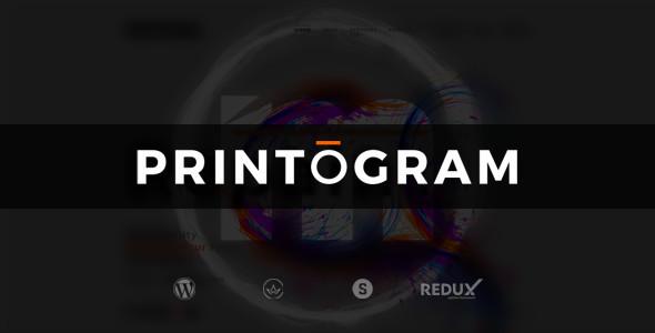 قالب Printogram - قالب وردپرس