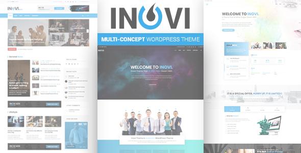 قالب INOVI - قالب وردپرس چند مفهومی